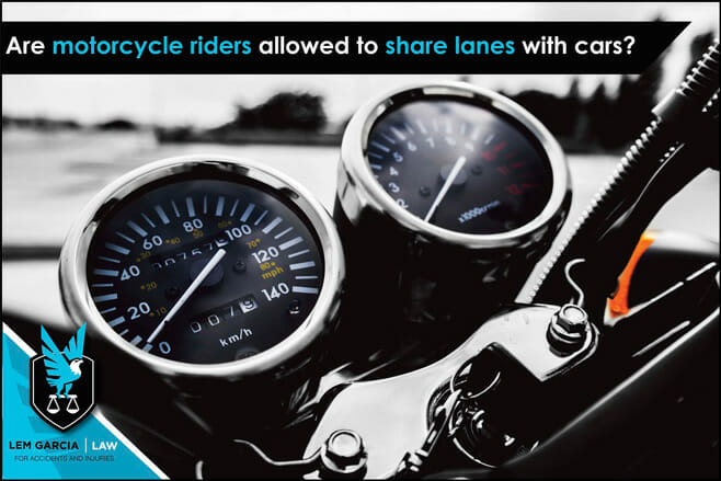 are-motorcycle-riders-allowed-to-share-lanes-with-cars